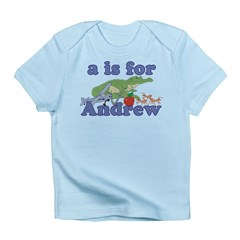A is for Andrew Infant T-Shirt
