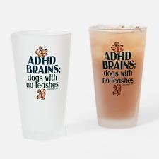 ADHD BRAINS Pint Glass