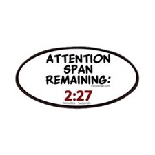 Attention Span Remaining: 2:2 Patches