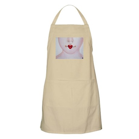 HEART LIPS Apron