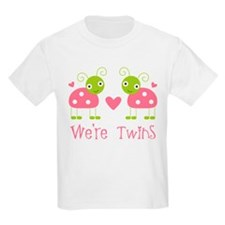 We're Twins Ladybugs T-Shirt
