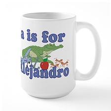 A is for Alejandro Mug
