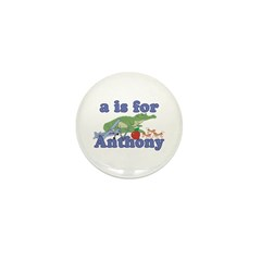 A is for Anthony Mini Button (10 pack)