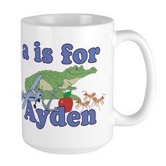 A is for Ayden Mug