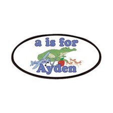 A is for Ayden Patches
