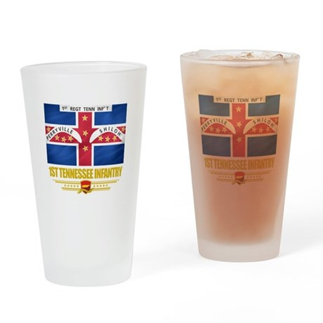 1st Tennessee Infantry Pint Glass