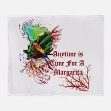 Time For A Margarita! Throw Blanket