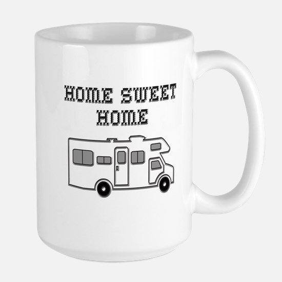 Home Sweet Home Mini Motorhome Large Mug