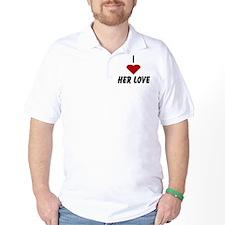 I Heart Her Love T-Shirt