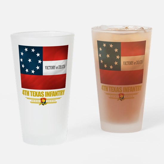 4th Texas Infantry Pint Glass