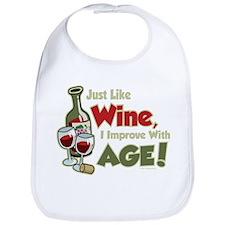 Wine Improve With Age Bib