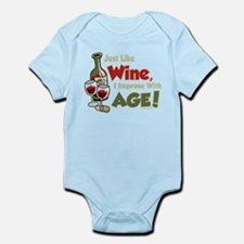 Wine Improve With Age Infant Bodysuit
