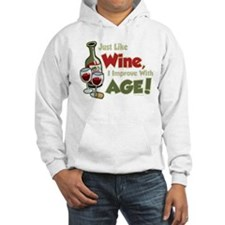 Wine Improve With Age Hoodie