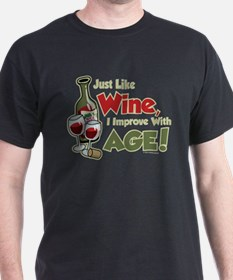 Wine Improve With Age T-Shirt