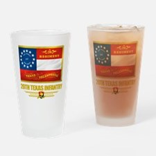 20th Texas Infantry Pint Glass