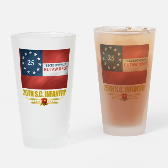 25th SC Infantry Pint Glass