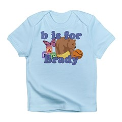 B is for Brady Infant T-Shirt