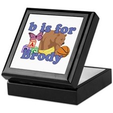 B is for Brody Keepsake Box