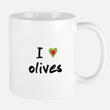 I Love Olives Mug