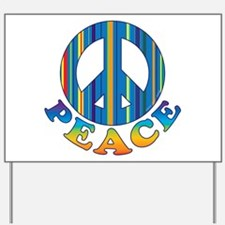 Cool Peace Yard Sign