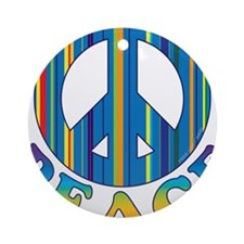 Cool Peace Ornament (Round)