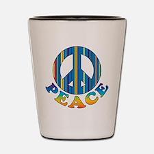 Cool Peace Shot Glass