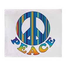 Cool Peace Throw Blanket