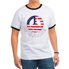 Patriotic Peace T