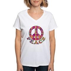 Plaid Peace Shirt