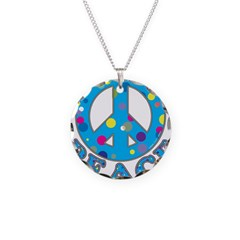 Polka Dot Peace Necklace
