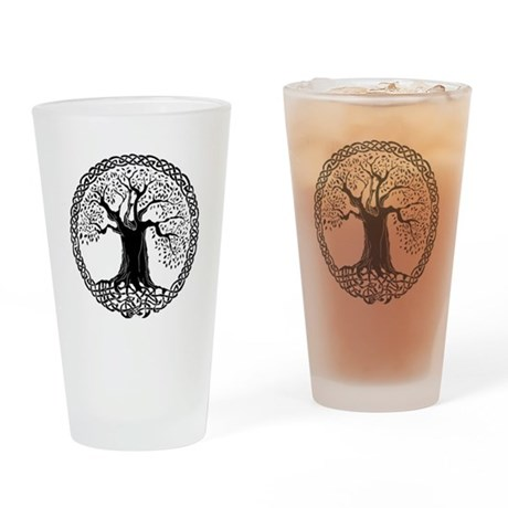Wisdom Tree I.V. Pint Glass