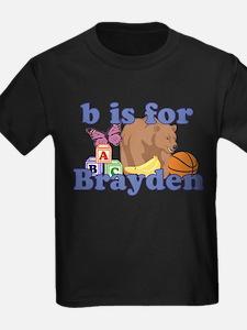 B is for Brayden T