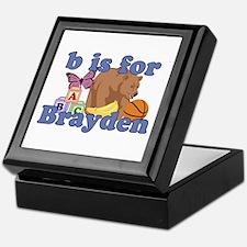 B is for Brayden Keepsake Box