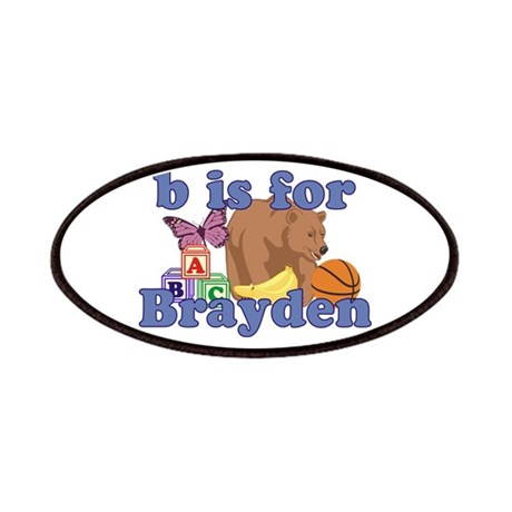 B is for Brayden Patches
