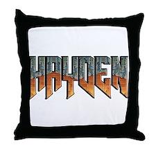 NHDOOM Throw Pillow