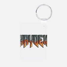 NHDOOM Aluminum Photo Keychain