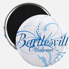"""Bartlesville, Oklahoma 2.25"""" Magnet (100 pack)"""