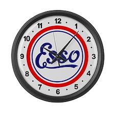 Esso Gasoline Large Wall Clock