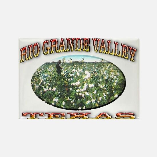 Rio Grande Valley Rectangle Magnet