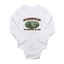 Rio Grande Valley Long Sleeve Infant Bodysuit