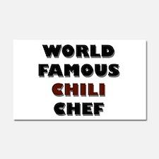 World Famous Chili Chef Car Magnet 12 x 20