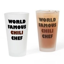 World Famous Chili Chef Pint Glass