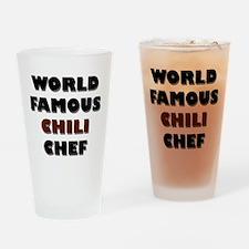 World Famous Chili Chef Pint Glass