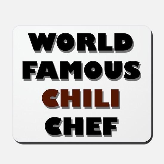World Famous Chili Chef Mousepad