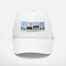 Lighthouses of the Outer Banks Baseball Baseball Cap