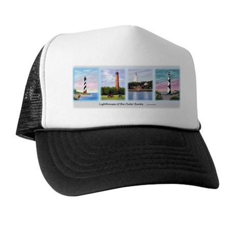 Lighthouses of the Outer Banks Trucker Hat
