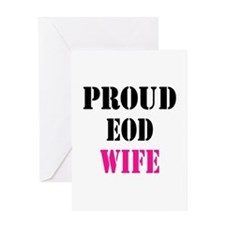 Proud EOD Home/Office Greeting Card
