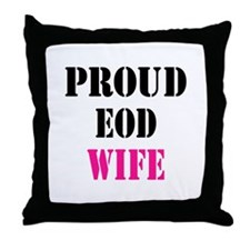 Proud EOD Home/Office Throw Pillow