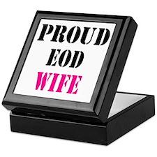Proud EOD Home/Office Keepsake Box