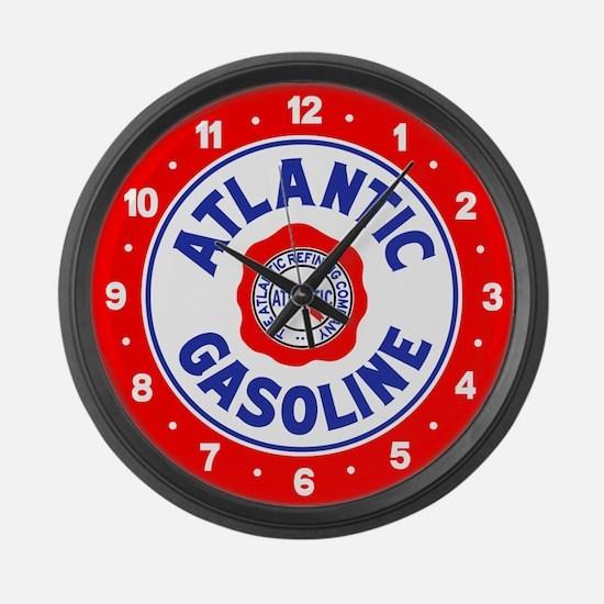 Atlantic Gasoline Large Wall Clock